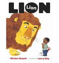 A young boy encounters a lion while trying to find his pet cat--meeting a number of other animals along the way.
