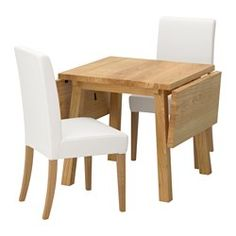 IKEA - MÖCKELBY / KAUSTBY, Table and 2 chairs