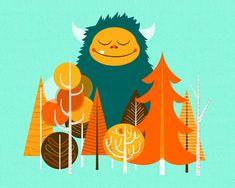 Alex Westgate es un diseñador e ilustrador de Toronto, con un estilo muy simpático y fresco