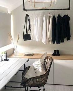 Cosy Bedroom, Room Ideas Bedroom, Bedroom Layouts, Bedroom Storage, Bedroom Inspo, Room Decor, Student Bedroom, Kitchen Ikea, Romantic Room