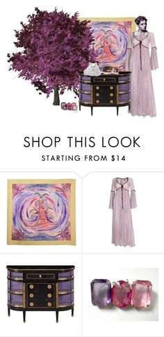 PURPLE TREE by zazaofcanada on Polyvore featuring Hermès and vintage  Follow me! http://zazaofcanada.com zazaofcanada.etsy.com http://www.shopzazaofcanada.com http://zazaofcanada.tumblr.com/ www.facebook.com/ZazaofCanada www.twitter.com/zazaetsy https://www.pinterest.com/zazaofcanada  Welcome to Zaza of Canada! Our vintage items are hand selected to bring you the best antique store finds, right to your door. With so many items to choose from, we are confident you will quickly fall in love…