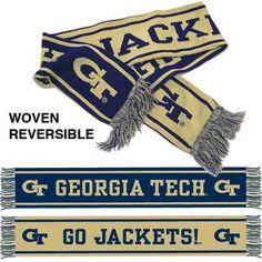 Georgia Tech Reversible Scarf