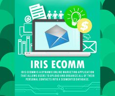 """What's the best way to manage your email?   """"IRIS eComm"""" allows users to create up to 6 custom email groups. Choose from the provided email templates to send professionally designed messages to your contacts, on the date and time that you scheduled it to be sent. #HEC #IRISBusinessSuite #IRISeComm  Visit https://eshop.interush.net/phtest12/product/iris-suite for more details"""