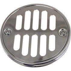 """Monogram Brass MB-SDC-600 3-5/8"""" Decorative Shower Strainer Round Set"""