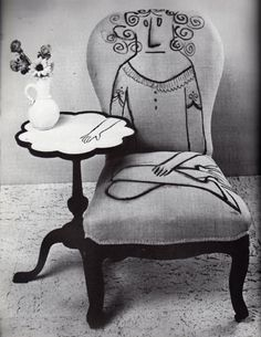 That ain't no Picasso, that's a Saul Steinberg.
