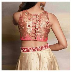 15 Bridal Blouse Back Designs You Will Love | POPxo