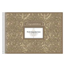 Keepsake Book Photo Gold Ea | Party Supply | Paper Party Supplies and Goods Melbourne