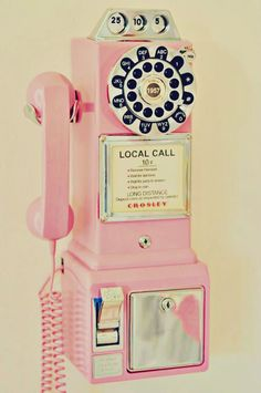 Le telephone rose