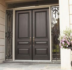Doorland Group Portfolio Home Door Design, Door And Window Design, Double Door Design, Door Design Interior, Main Door Design, House Design, Wood Entry Doors, Double Entry Doors, Wooden Doors