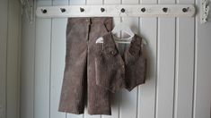 Cordfløyel bukse og vest. Str. 98 - Epla Vest