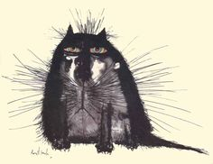 Searles Cats by Ronald Searle. Discussion on LiveInternet - Russian Service Online Diaries