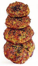 Özen'in mutfağından Özen'li tarifler :): Fırında yulaf kepekli kabak mücveri (Dukan mücveri)