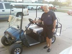 golf cart for trips to the beach