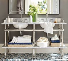 vignette design: Apothecary Sinks