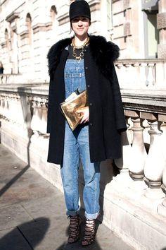 trendy [dungaree fashion]