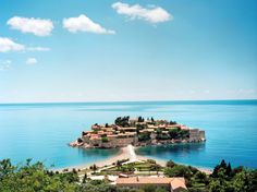 Sveti Stefan, a glorious #island off the coast of #Montenegro Source: http://travel.nationalgeographic.com/favorites/montenegro/sveti-stefan/reviews/37/ #SvetiStefan