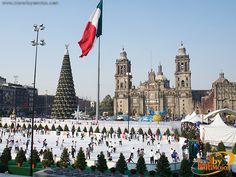 Navidad-Zocalo-Mexico