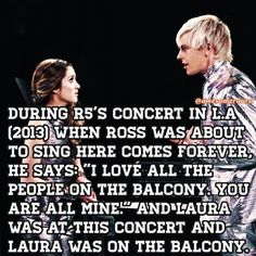 Yesss Raura (I can't help by ship it just a little bit...)
