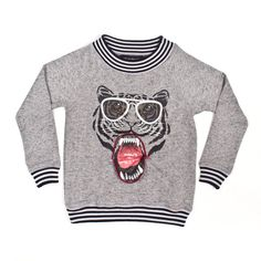 Tiger Sweatshirt - Milkontherocks
