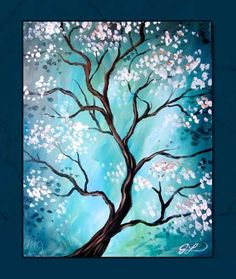 View our painting class calendar to paint and sip at Painting with a Twist- Orlando, FL. Diy Painting, Painting & Drawing, Acrylic Painting Trees, Peace Painting, Beginner Painting, Wine And Canvas, Paint And Sip, Easy Paintings, Tree Paintings