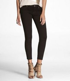 #expressjeans STELLA CROPPED EXTREME STRETCH JEAN LEGGING at Express