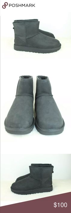 5055384d3f0f1 UGG CLASSIC MINI SNAKE SUEDE SHEEPSKIN SHORT BOOTS One of our most beloved  silhouettes