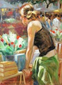 Monica Castanys رسامة اسبانية   ( معاصرة )