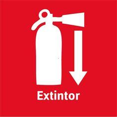 Resultado de imagen para señaletica extintor
