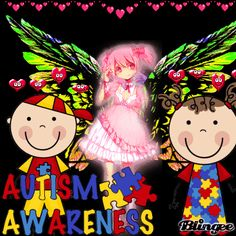 autism awareness Autism Awareness, Minnie Mouse, Boards, Animation, Scrapbook, Create, Disney Characters, Heart, Planks