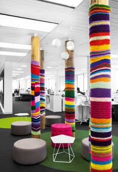 Thats what I call brightening up a meeting area.  The-Bold-Collective_Mediacom