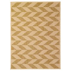 HESSUM Door mat - IKEA - $13.99 Fun chevron-ish mat.