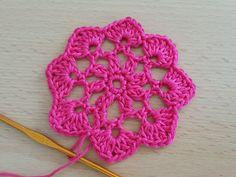 Crocheted  motif no  18