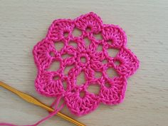 Crocheted  motif no  18