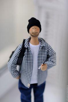 Купить Портретная кукла в стиле Тильда. - разноцветный, тильда, кукла, портретная кукла, портретная тильда