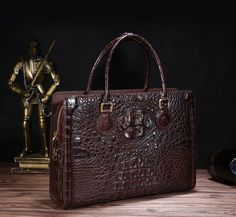Briefcase For Men, Leather Briefcase, Crocodile, Briefcases, Boots, Gardening, Bag, Ideas, Fashion