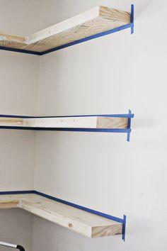 13 Adorable DIY Floating Shelves Ideas For You 2 #CornerShelves