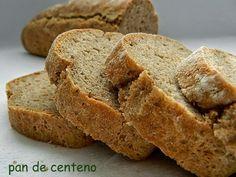 las recetas de mi abuela: PAN DE CENTENO INTEGRAL Food Lab, Tasty, Yummy Food, Pan Bread, Artisan Bread, Sans Gluten, How To Make Bread, Bakery, Food Porn