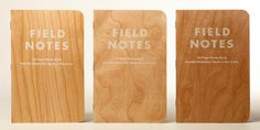 These Swanky Notebooks Are Bound in Hand-Selected Cherry Wood | Gadget Lab | Wired.com