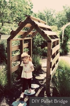 Inspiration: DIY Pallet Covered Bridge » Curbly | DIY Design Community