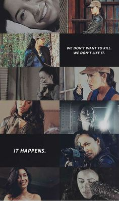 Rosita Espinosa. I'm really starting to like Rosita too. Abraham treated her like shit and she deserves better.