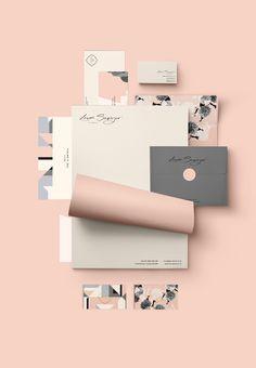 Laura Sawyer brand identity by Cocorrina