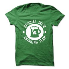 Official Irish Drinking Team Tees and Hoodies