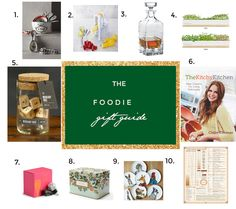 The Foodie Holiday Gift Guide – 2014