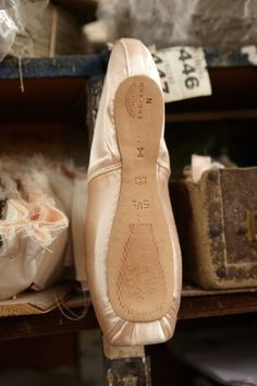 Spitalfields Life / The Pointe Shoe Makers of Hackney- Contributing Photographer Patricia Niven and Novelist Sarah Winman visited the Freed of London factory in Well St to create these portraits of the Pointe Shoe Makers, an elite band of highly-skilled craftsmen who make the satin slippers worn by the world's greatest ballerinas.