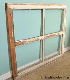 Hometalk :: Great Ways to Repurpose Windows :: Tracy Snyder's clipboard on Hometalk