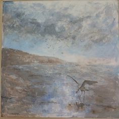 Devon artist Julie Dunster captures the winter light in her 60x60cm oil painting for her exhibition Definitely Devon. JulieDunsterArt@gmail.com for info