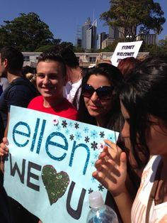 How sweet Love you Ellen