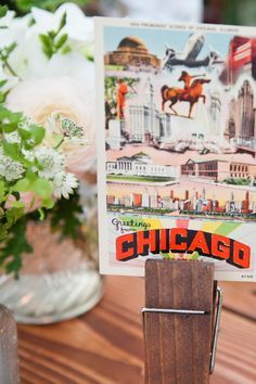 postcard table numbers - Google Search