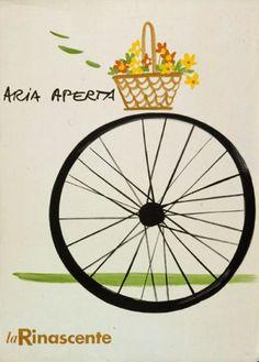 By Lora Lamm (born 1928), ca. 1954-1962, Aria aperta, La Rinascente. (I)