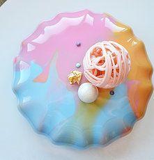 Mirror glaze mousse cake pastry entremet
